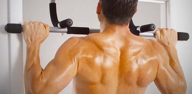 How to Get Rid of Back Fat  -exercises  Pull-ups