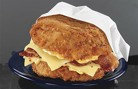 10 American Fast Foods Double Down from KFC