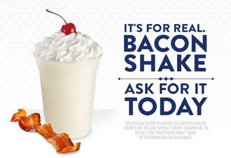 Bacon Shake from Jack-in-the-Box