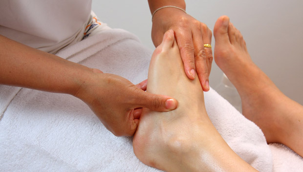 Ball, Top & Bottom of Foot Pain Treatments  foot massage
